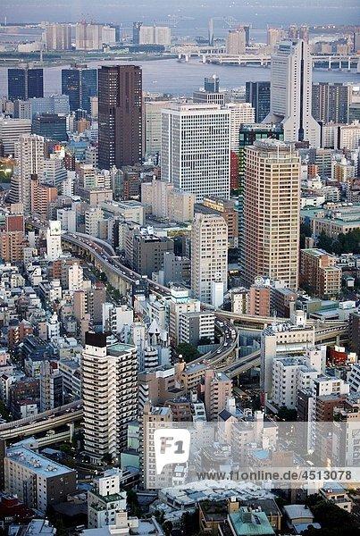 Tokyo City View  Roppongi Hills Mori Tower  Tokyo  Japan.