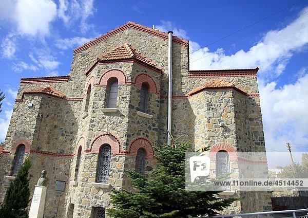 Church in Troodos Cyprus island