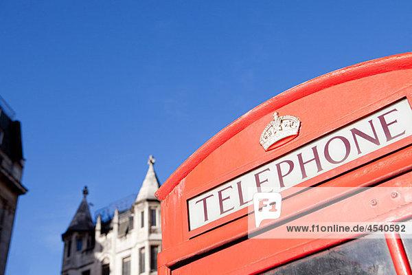 Rote Telefonzelle  London