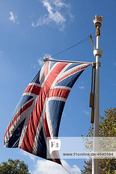 Britische Flagge  London