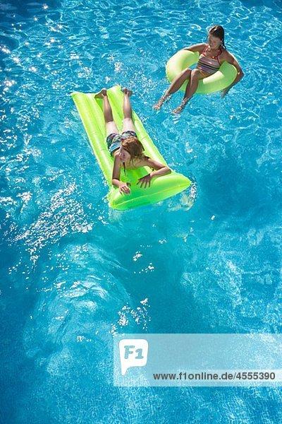 Schwimmbad schwimmen
