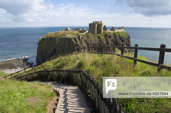 Dunnottar castle  Aberdeenshire  Schottland  U.K.