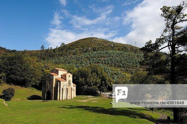 Pre-Romanesque church of San Miguel de Lillo  Oviedo  Asturias  Spain