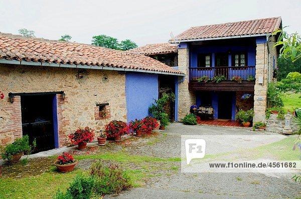 Rural house. Asturias province  Spain.