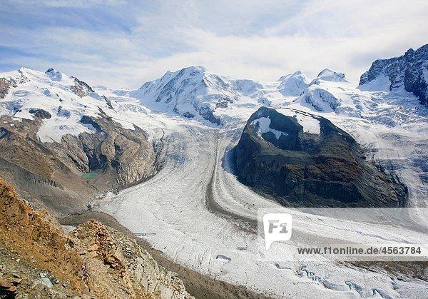 Gornergletscher  Switzerland