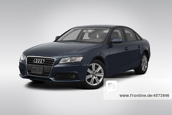 grau frontal Ansicht Flachwinkelansicht Audi 2 Winkel