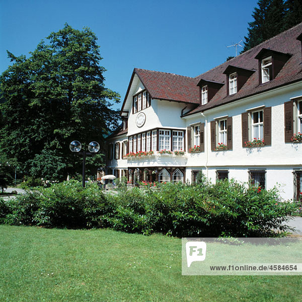 Germany  Sulzburg  Margravian Country  Baden-Wuerttemberg  hotel Bad Sulzburg