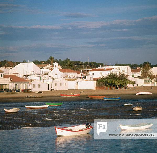 El Rompido  Huelva province  Andalusia  Spain