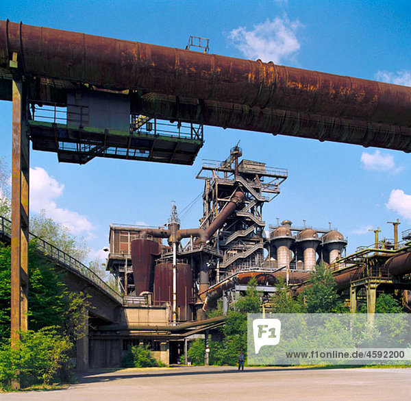 Metallurgical plant  now a museum and industrial park. Duisburg-Meiderich  Germany Metallurgical plant, now a museum and industrial park. Duisburg-Meiderich, Germany