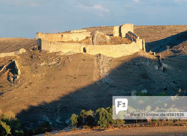 Osma Castle. Burgo de Osma  Soria province  Castile-Leon  Spain