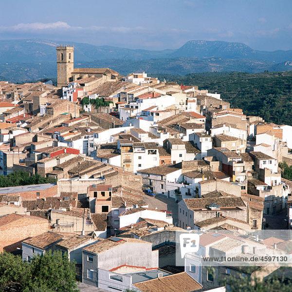 Les Useres. El Cid road. Castellon province. Comunidad Valenciana. Spain.
