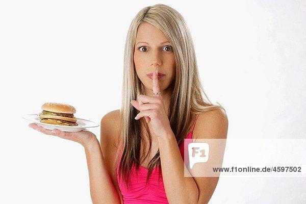 AGEFOTOSTOCK,Anorexie,Big Mac,Blond,Bresaola