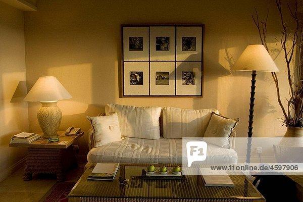 Sofa in Resort Hotel  Mauritius