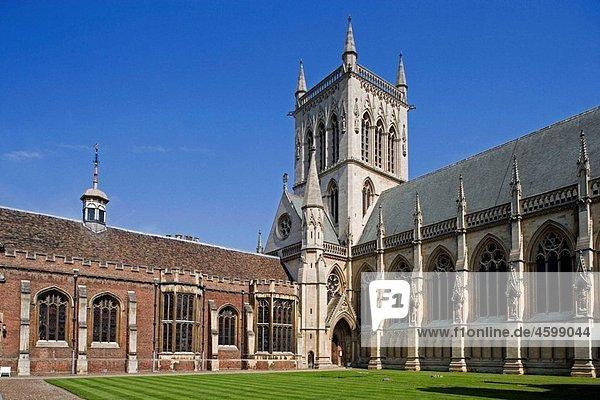 Cambridge St John¥s College Cambridgeshire UK