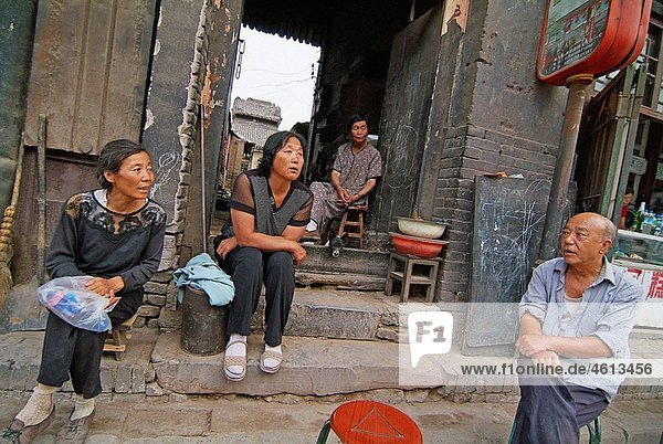 Pingyao  Shanxi province  China