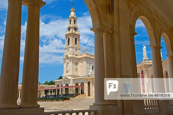 Sanctuary of Our Lady of Fatima  Fatima  Santarem district  Portugal