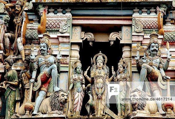 Murugan Hindu temple  Slave Island area  Colombo  Sri Lanka