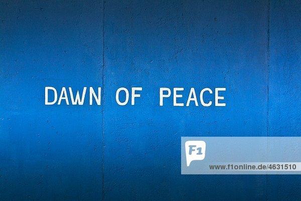 Deutschland  Berlin  Text zur Berliner Mauer Deutschland, Berlin, Text zur Berliner Mauer