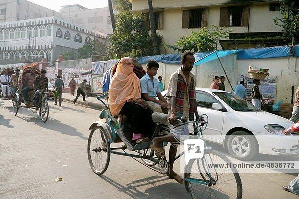 Rickshaw  Old Dahka  Bangladesh