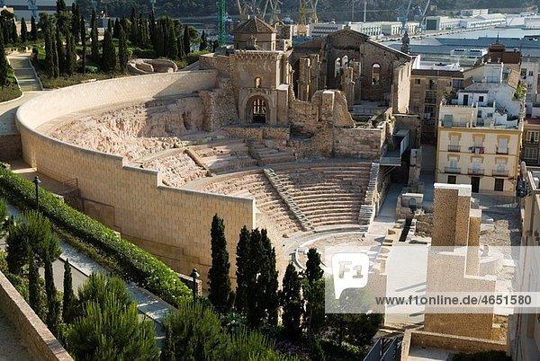 Teatro Romano CARTAGENA CIUDAD region Murcia ESPA†A Roman Theater CARTAGENA CITY Murcia region SPAIN