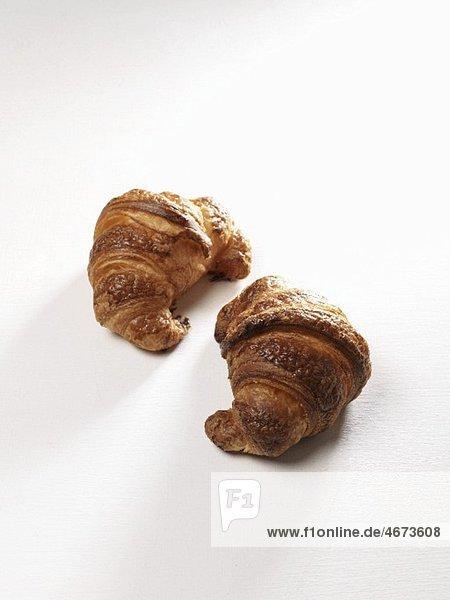 Zwei Croissants