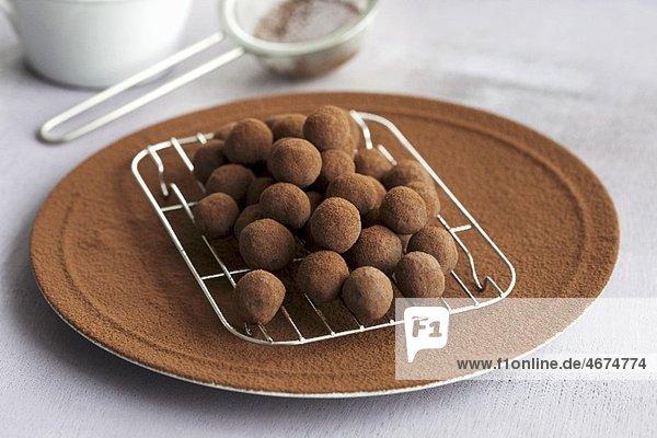 Schokoladenkugeln