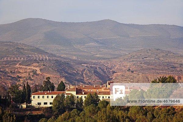 View of the Monastery of Vico  La Rioja  Spain