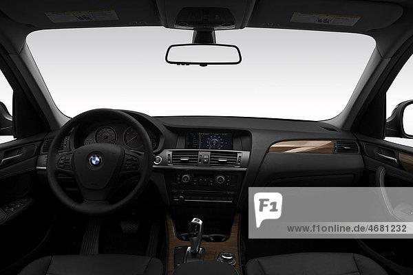 schwarz Lenkrad BMW Mittelkonsole Armaturenbrett