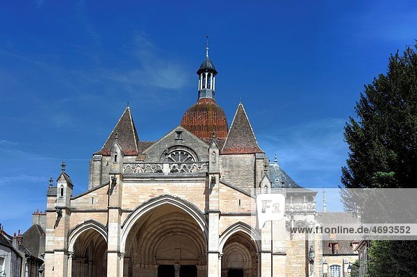 Notre Dame cathedral  Beaune  Cote d´Or department  Burgundy  France