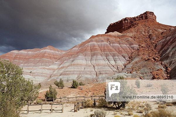 Felslandschaft im Old Paria Movie Set  Utah  USA  Amerika