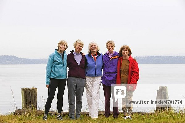 Five healthy middle_aged women