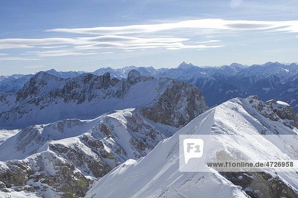 Dachstein bei Föhn  Steiermark  Österreich  Europa