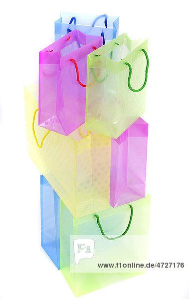 Durchsichtige Kunststofftüten  Geschenke