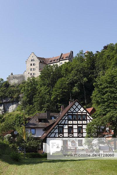Burg Rabenstein  Ahorntal  Fränkische Schweiz  Fränkische Alb  Oberfranken  Franken  Bayern  Deutschland  Europa