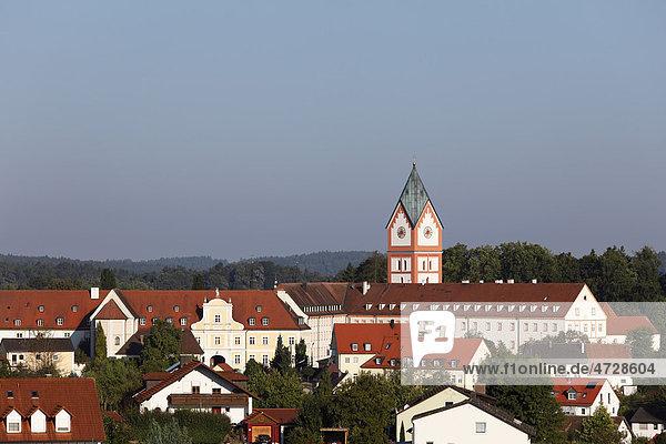 Kloster Scheyern  Hallertau  Holledau  Hollerdau  Oberbayern  Bayern  Deutschland  Europa