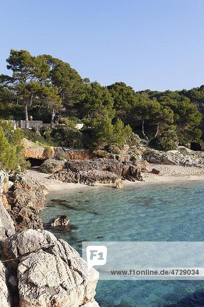 Cala Gat  Cala Ratjada  Majorca  Balearic Islands  Spain  Europe