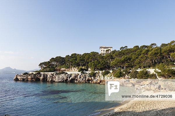 Villa March  Cala Gat  Cala Ratjada  Majorca  Balearic Islands  Spain  Europe