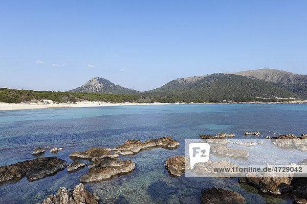Beach Cala Ratjada  Cala Ratjada  Cala Ratjada  Majorca  Balearic Islands  Spain  Europe