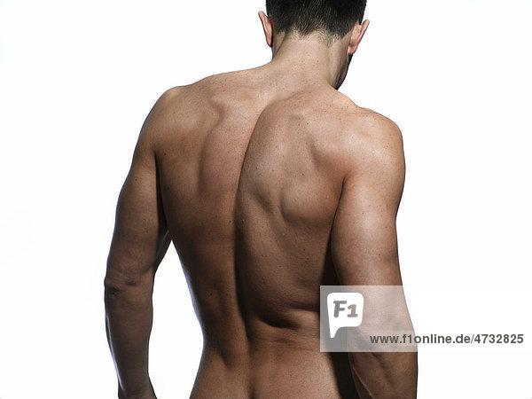 Rücken Rasieren Mann Alleine