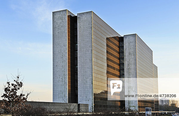 Vattenfall-Haus am Überseering in der City Nord in Winterhude,  Hamburg,  Deutschland,  Europa