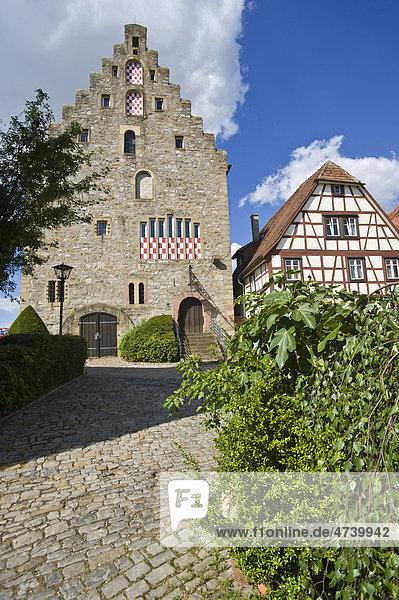 Steinhaus  Bad Wimpfen  Neckartal  Baden-Württemberg  Deutschland  Europa