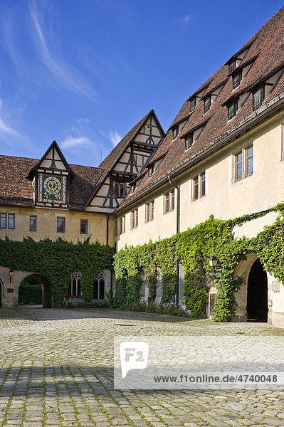 Neuer Bau im Kloster und Schloss  Bebenhausen  Tübingen  Schwäbische Alb  Baden-Württemberg  Deutschland  Europa