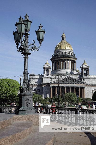 St. Isaaks Kathedrale  St. Petersburg  Russland