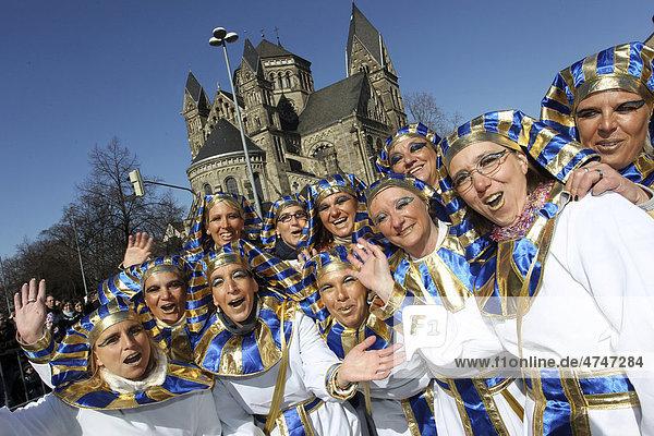 Karneval  Rosenmontagszug Koblenz  Rheinland-Pfalz  Deutschland  Europa Karneval, Rosenmontagszug Koblenz, Rheinland-Pfalz, Deutschland, Europa