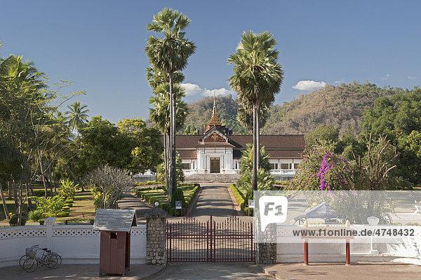 Königspalast  Nationalmuseum  Luang Prabang  Laos  Südostasien