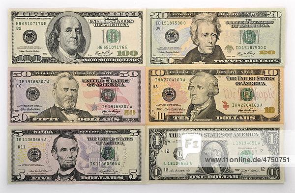 us dollar banknoten geldscheine lizenzpflichtiges bild. Black Bedroom Furniture Sets. Home Design Ideas