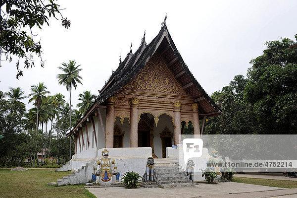 Tempel Wat Aham  Luang Prabang  Laos  Südostasien  Asien