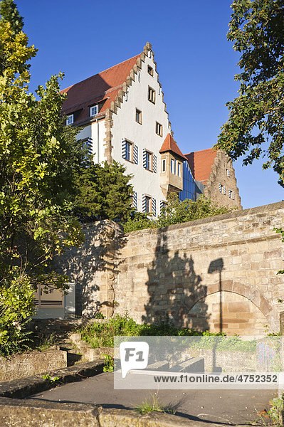 Deutsches Zweiradmuseum und Deutschordensschloss  Neckarsulm  Neckartal  Baden-Württemberg  Deutschland  Europa