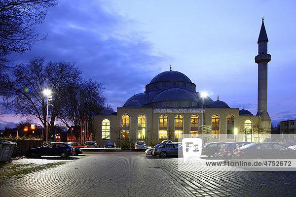 Ditib-Merkez-Moschee  größte Moschee in Deutschland  Duisburg-Marxloh  Nordrhein-Westfalen  Deutschland  Europa Ditib-Merkez-Moschee, größte Moschee in Deutschland, Duisburg-Marxloh, Nordrhein-Westfalen, Deutschland, Europa