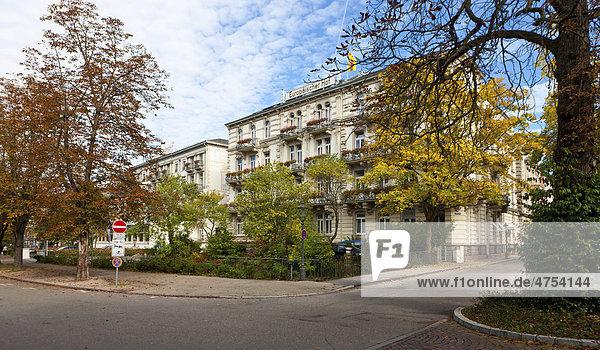 Hotel Europäischer Hof  Kaiserallee  Baden-Baden  Baden-Württemberg  Deutschland  Europa